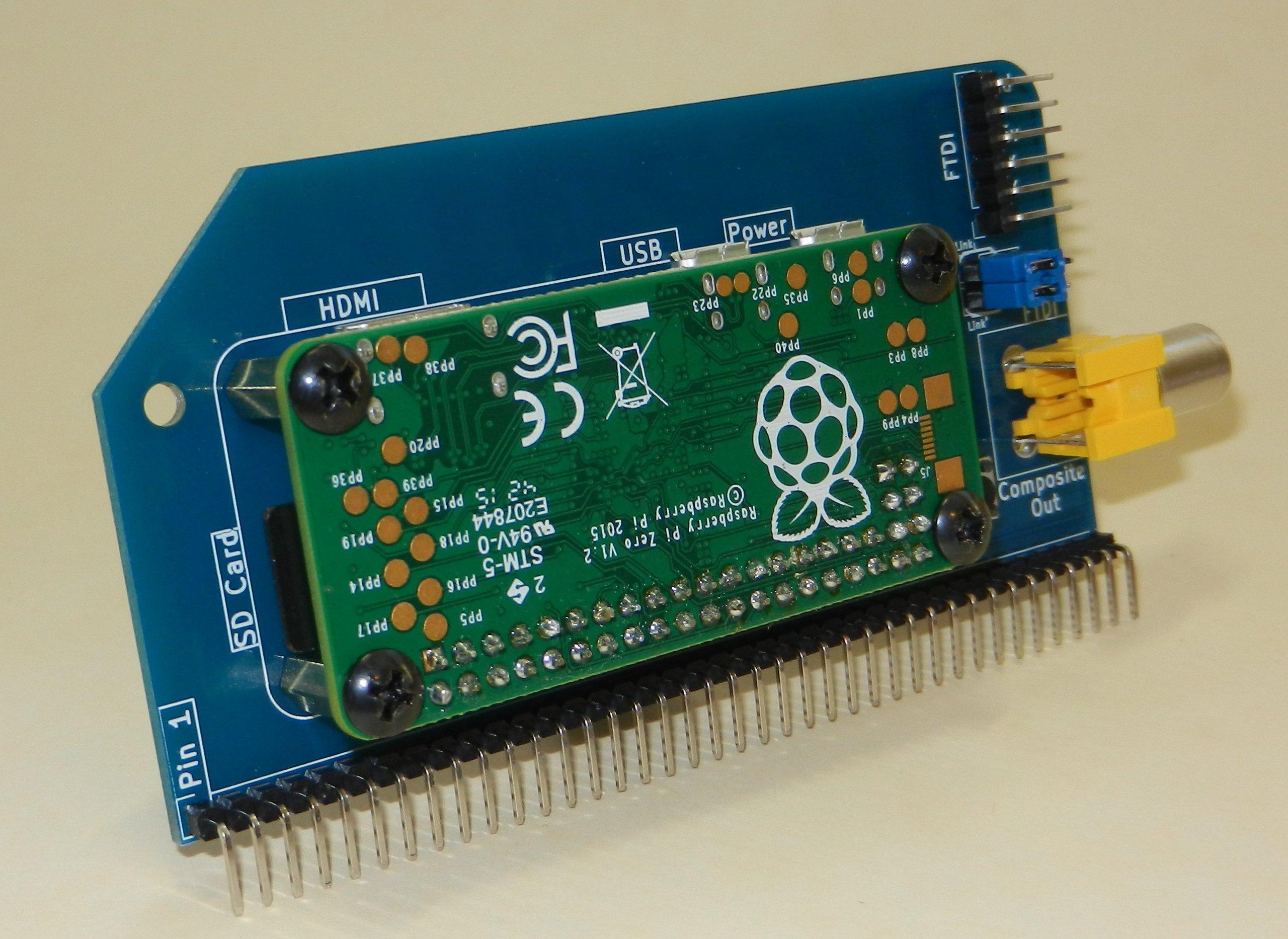 Pi Zero Serial Terminal Kit
