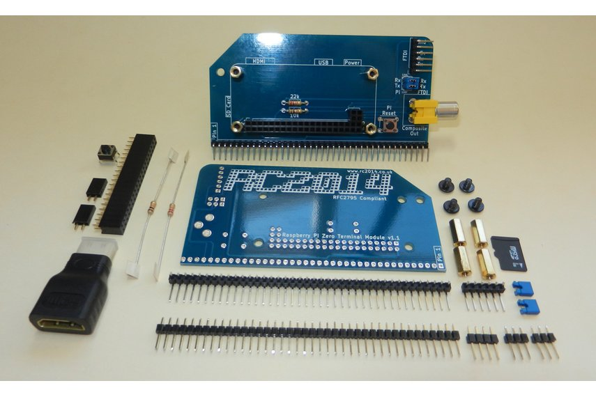 Raspberry Pi Zero Serial Terminal for RC2014