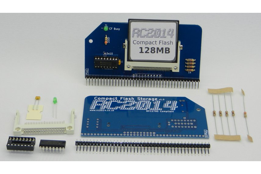 Compact Flash Module for CP/M RC2014 Computer