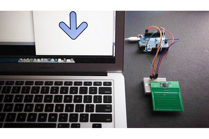 Hover: gesture and touch controller for Arduino, RPi, Spark Core