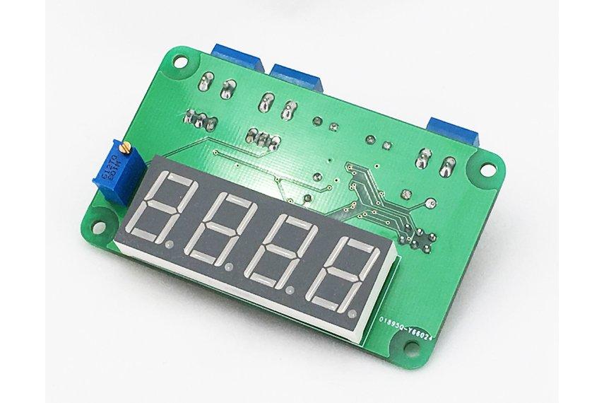 Seven-Segment Thermistor Extruder Controller