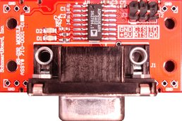 Populated RS-232 Module
