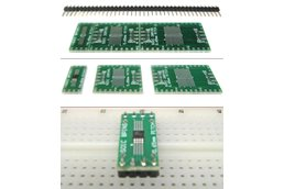 SchmartBoard|ez 0.65mm Pitch SOIC to DIP adapter