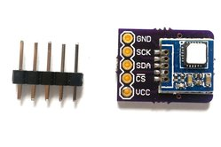 Si7005 temperature and relative humidity sensor breakout board