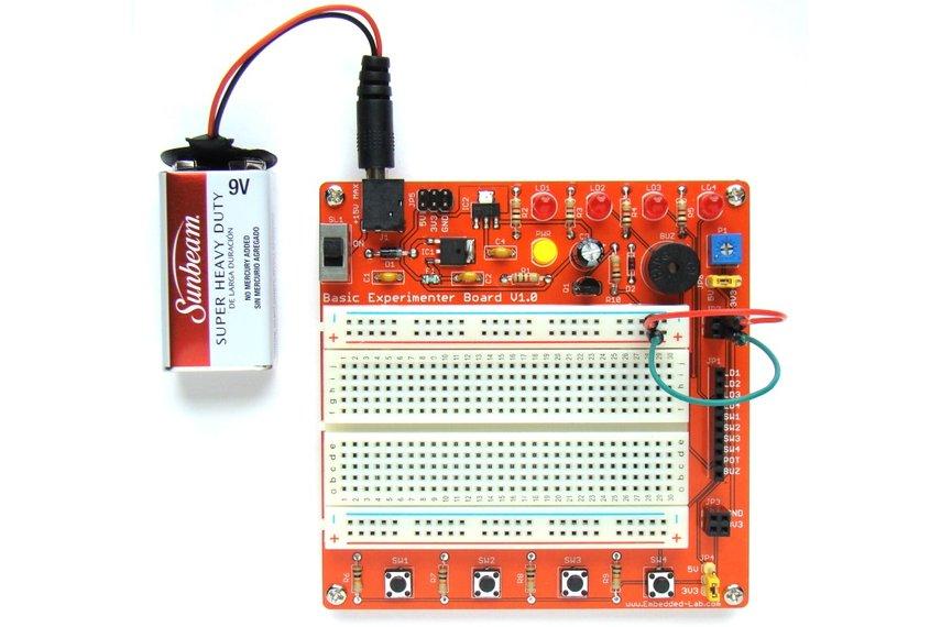 General purpose experimenter board for beginners