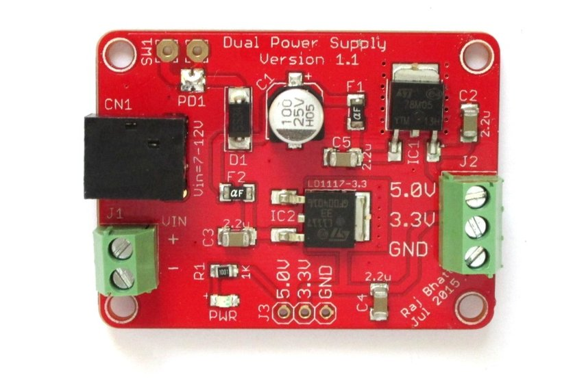 General purpose 5.0V and 3.3V fixed power supply