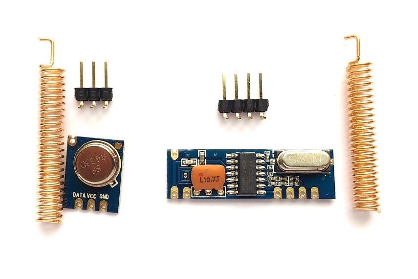 433MHz ASK RF transmitter/receiver kit