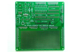 Serial driver for large seven segment LED displays