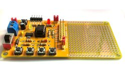 PIC12F series microcontrollers project board kit