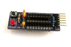 Mini breakout board kit for PIC16F628A/648A/1827/1847 microcontrollers