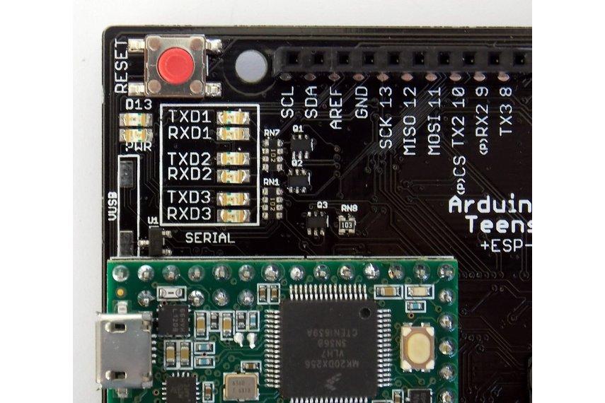 ARDUINO-TEENSY v4.2 with WIFI+BLUETOOTH+NRF24L01