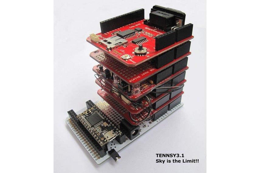 Teensy 3* Proto Board & Arduino Shield V1.1
