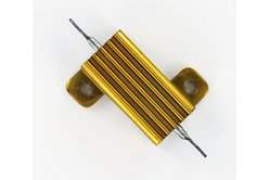 7pc 25ohm 25W Wirewound Aluminum Metal Shell Case Power Resistor