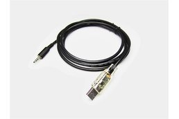 USB TTL CABLE 3.5MM STEREO, 3.3V, CLEAR SHLD REV