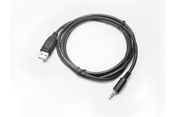 USB TTL CABLE 3.5MM STEREO, 3.3V, BLACK SHLD REV