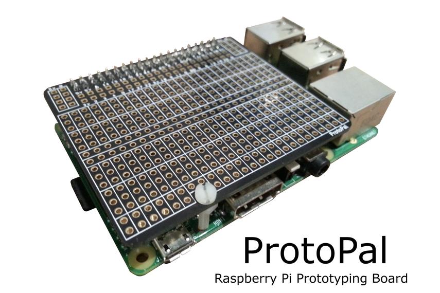 ProtoPal Raspberry Pi A+ B+ Prototyping Board