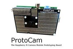 ProtoCam - Raspberry Pi Camera Prototyping Board