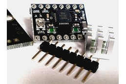 Bipolar stepper driver with heatsink