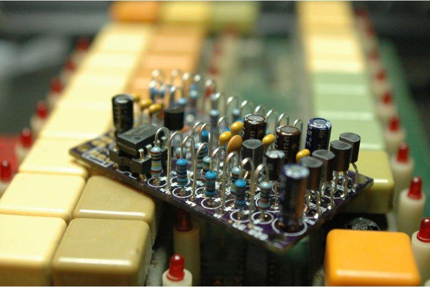 808 Kick Drum Clone PCB