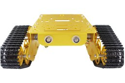 T300 Aluminum Alloy Metal Tank Chassis