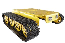 T200 Metal Robot Tank Car Chassis