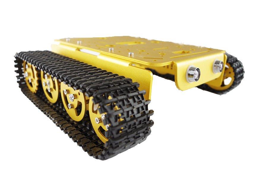 T200 Metal Robot Tank Car Chassis