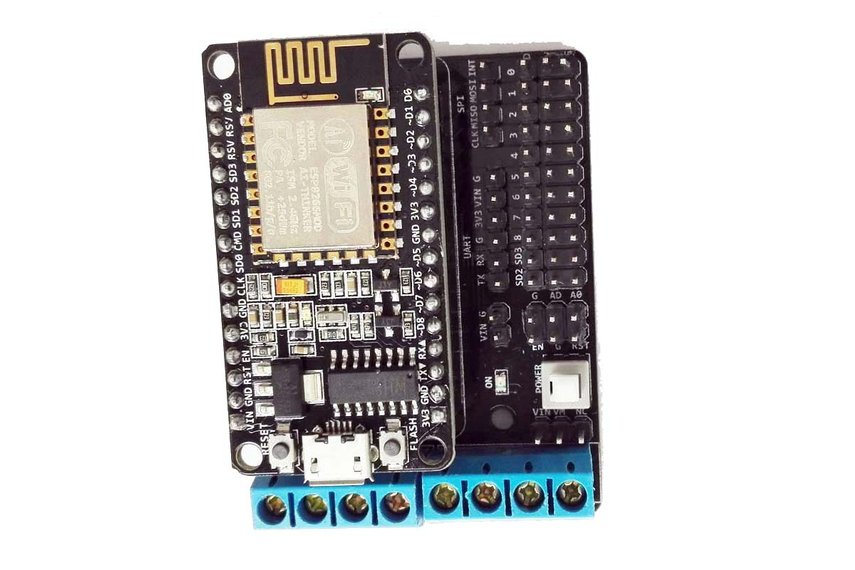 ESP8266 Develop Kit (NodeMCU board+ Motor Shield)