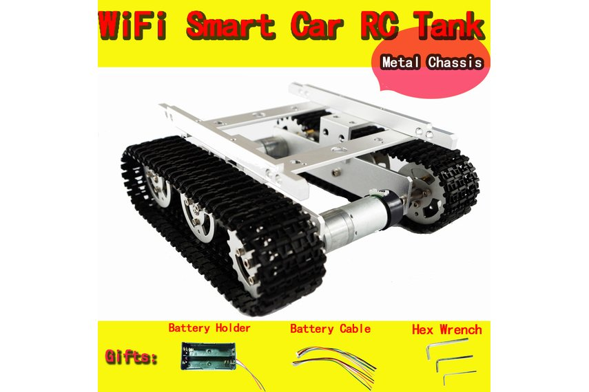 Metal Tank Chassis T100