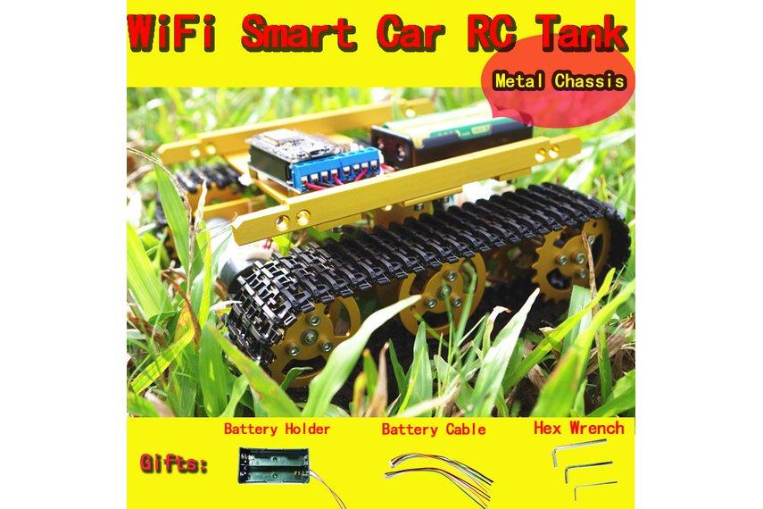 Cheapest WiFi RC Metal Tank T100