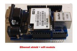 WiFi Zigbee Bluetooth 3 in 1 Arduino Shield