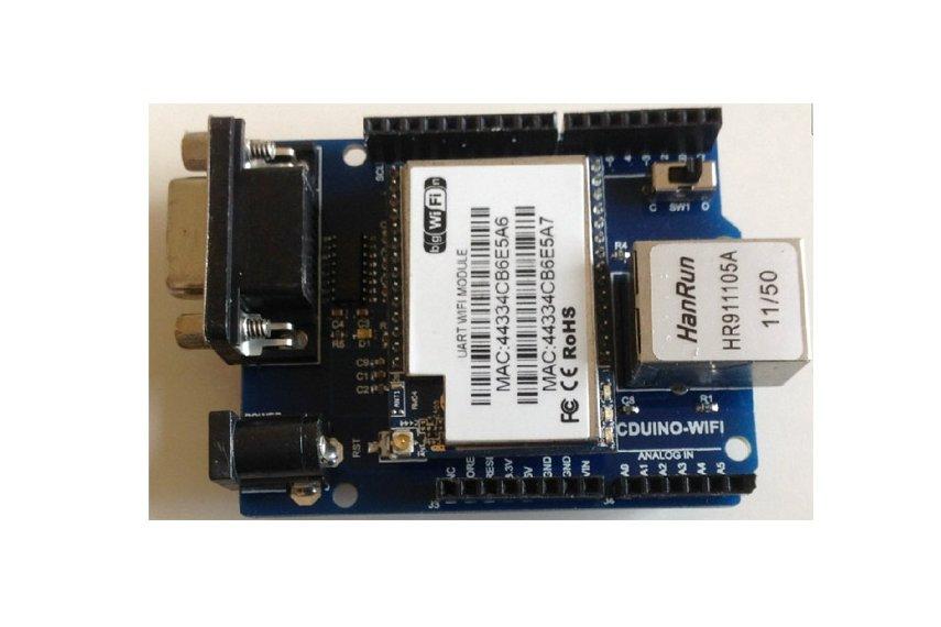 Wifi zigbee bluetooth in arduino shield from doit on