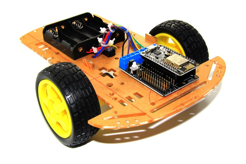 2WD L293D WiFi RC Smart Car with NodeMCU