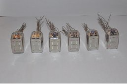 Set of 6x Rare Nixie Tube ITS1A, NOS condition