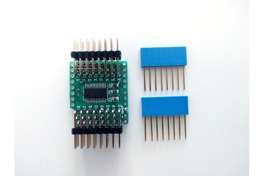 16-channel Servo Shield for D1 Mini, Version 1.0