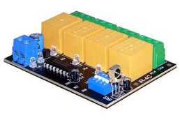4 channel infrared ir remote control relay board