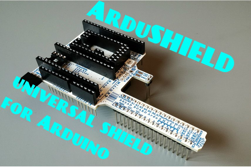 ArduSHIELD - universal shield for Arduino
