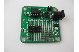 TinyGrid85 - ATTiny85 board with prototyping area