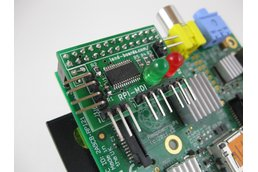 Raspberry Pi Servo Card (RPI-MDI)