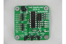 I2C Demo Board MCP23008 (I2CIO-8)