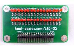 32-LED Card