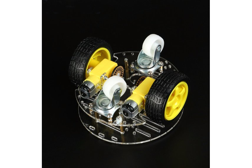 Round 2 Wheel-Drive Robot Car Kit