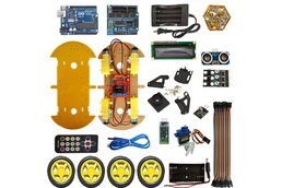 4WD RC Robot Car Kit with Bluetooth