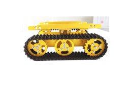 T100 Aluminum Alloy Robot Tank Car Chassis
