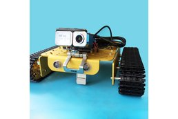 Video RC WIFI  Metal Robot Tank Chassis