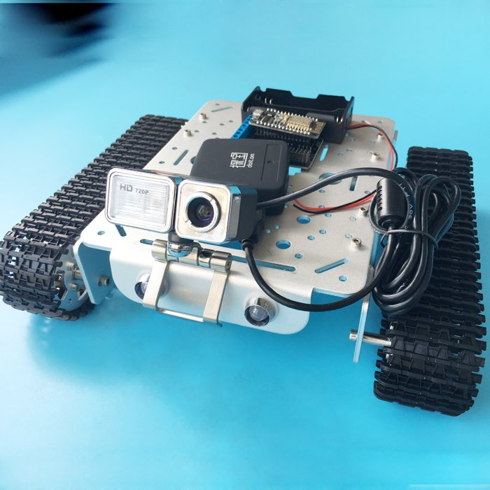 Arduino DS WiFi Camera Robot - Assembly and Presentation