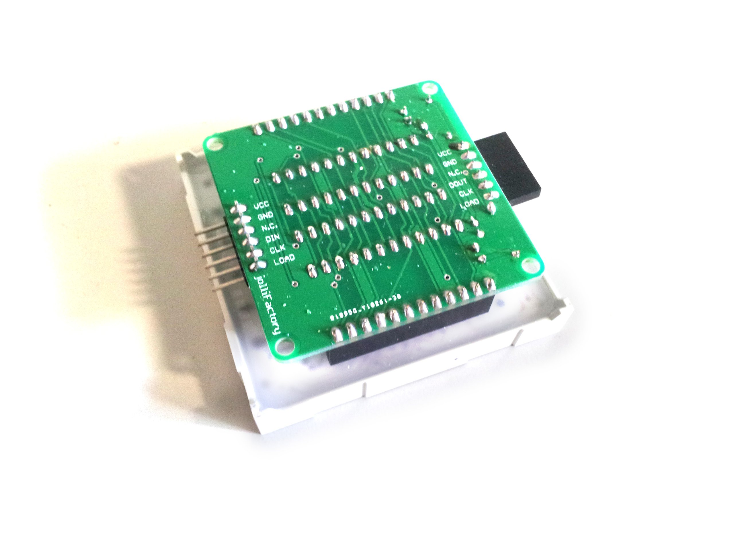 60mmx60mm Bicolor LED Matrix Driver Module DIY Kit from Nick64 on Tindie