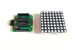 60mm x 60mm Bi-color LED Matrix Driver Module DIY Kit