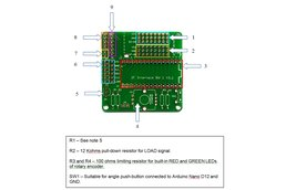 JF Interface Board 1 - Bare PCB Board with headers