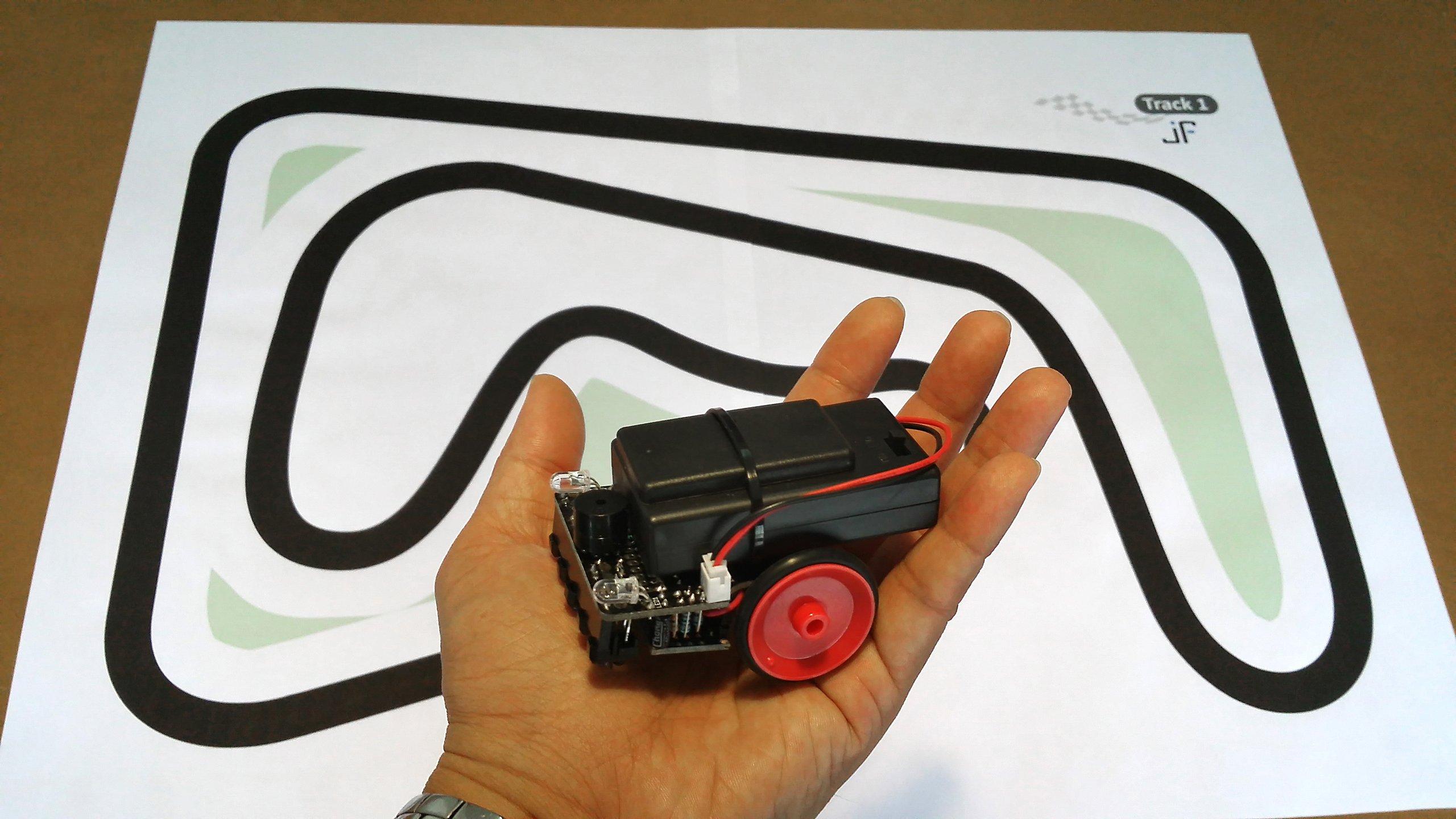 Jollibot arduino based line follower diy kit from nick