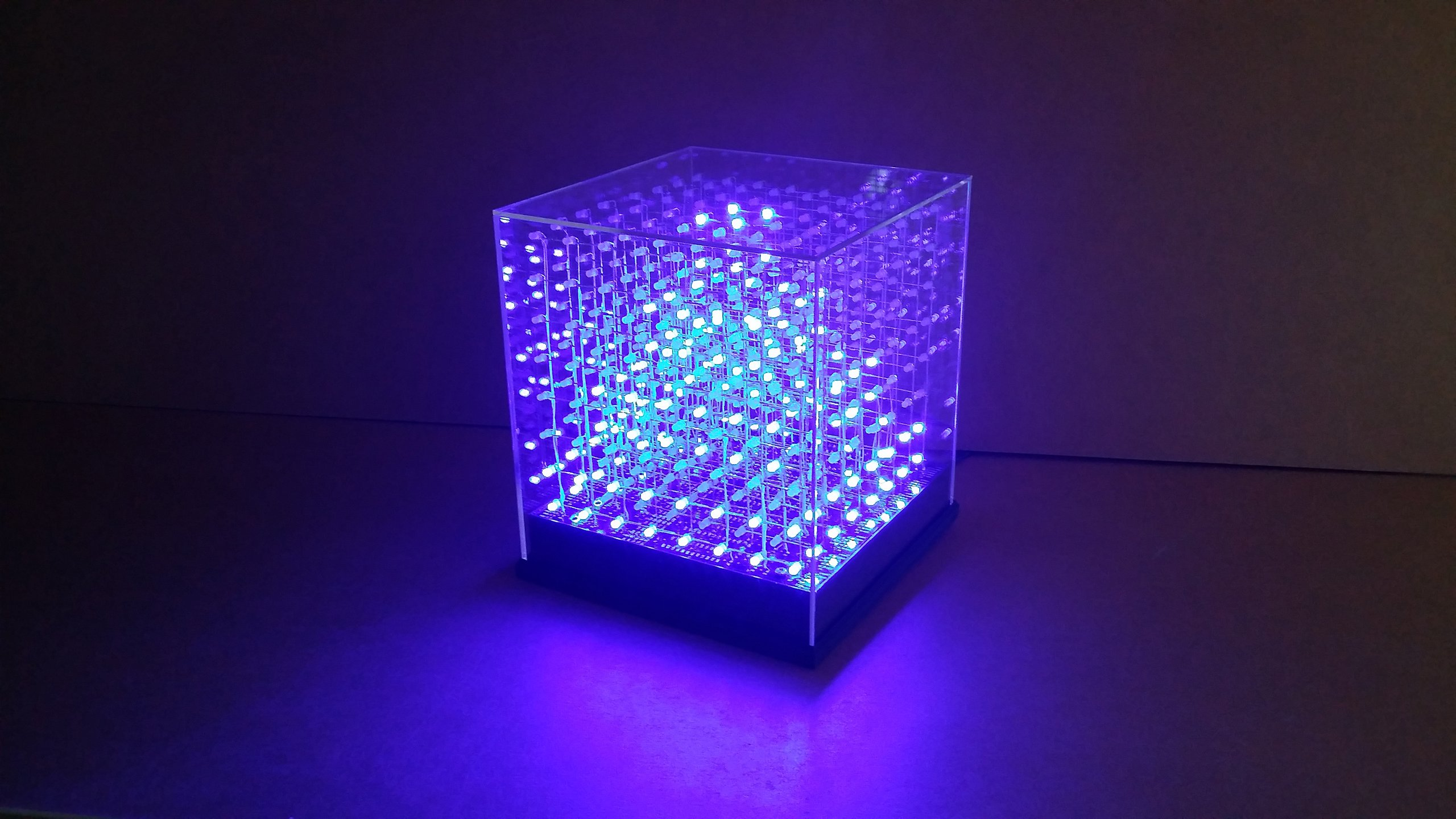 Jollicube x led cube spi diy kit from nick on tindie